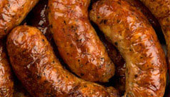 Dorset pork sausages
