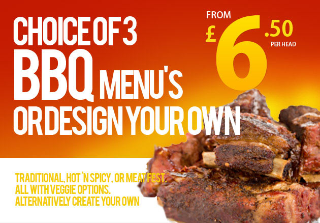 BBQ's from £6.50 a head